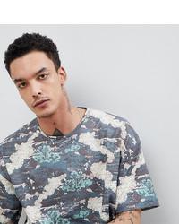 Мужская разноцветная футболка с круглым вырезом с принтом от Heart & Dagger