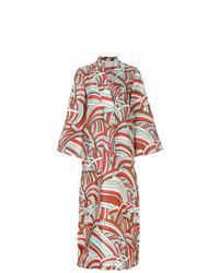 Разноцветное пляжное платье от La Doublej