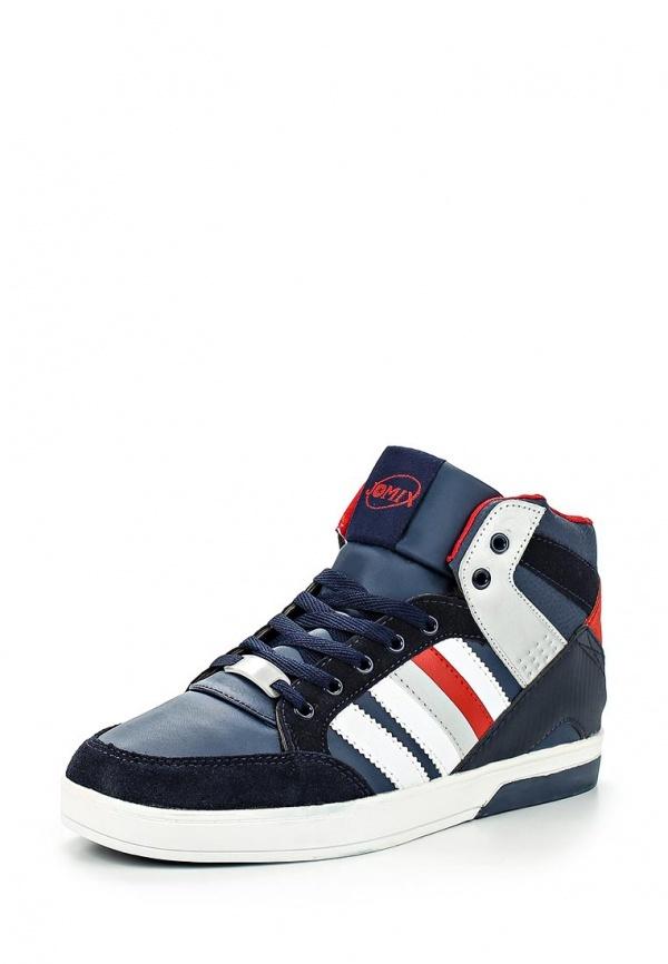 Мужские разноцветные замшевые кроссовки от Jomix