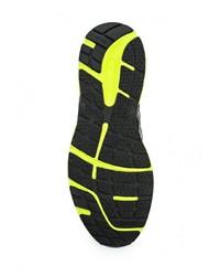 Мужские разноцветные кожаные кроссовки от Asics