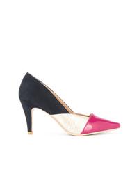 Разноцветные кожаные туфли от GUILD PRIME
