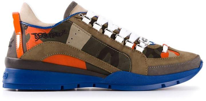 8020ccbf Мужские разноцветные кроссовки с принтом от DSquared, 21 154 руб ...