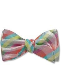 Разноцветный галстук-бабочка