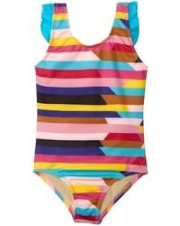 Разноцветный купальник
