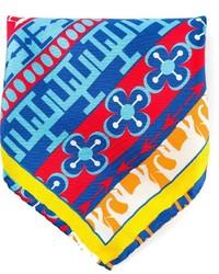 Разноцветный нагрудный платок с принтом от fe-fe