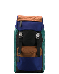 Разноцветный рюкзак из плотной ткани