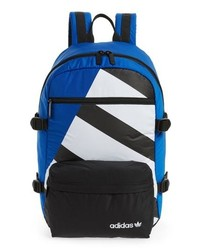 Разноцветный рюкзак с принтом