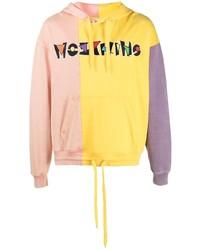 Мужской разноцветный худи с принтом от Moschino