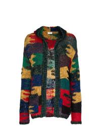 Мужской разноцветный худи от Saint Laurent