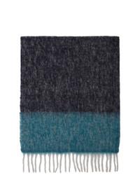 Мужской разноцветный шарф от Paul Smith