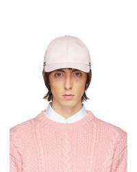 Мужская розовая бейсболка от Thom Browne