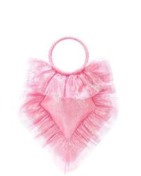 Розовая большая сумка из плотной ткани от The Vampire's Wife