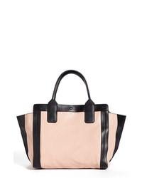 Розовая большая сумка