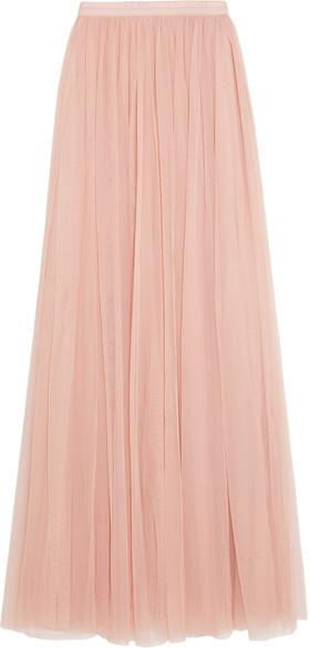 410c40dd34a ... Розовая длинная юбка из фатина от Needle   Thread