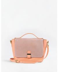 b669e99673a4 Купить женскую розовую замшевую сумку - модные модели сумок (270 ...