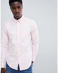 Мужская розовая классическая рубашка от Abercrombie & Fitch