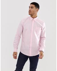 Мужская розовая классическая рубашка от Ben Sherman