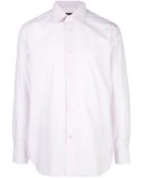 Мужская розовая классическая рубашка от Ermenegildo Zegna