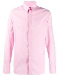 Мужская розовая классическая рубашка от Givenchy