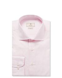 Мужская розовая классическая рубашка от Hackett