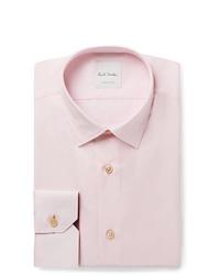 Мужская розовая классическая рубашка от Paul Smith