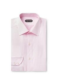 Мужская розовая классическая рубашка от Tom Ford