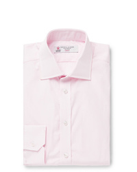 Мужская розовая классическая рубашка от Turnbull & Asser