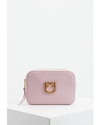 Розовая кожаная поясная сумка от Furla