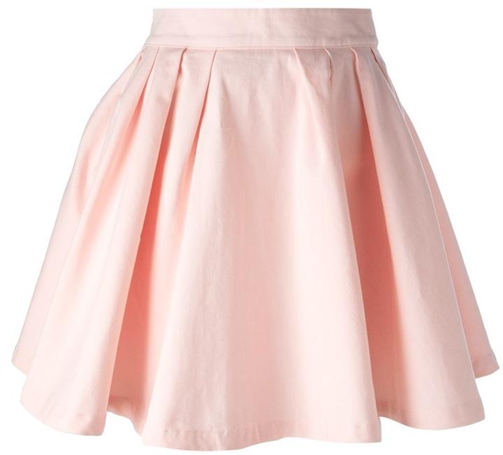 фото юбка розовая
