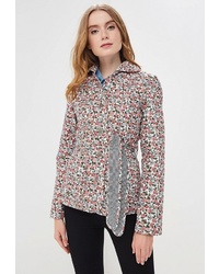 Женская розовая куртка-рубашка с принтом от Holty
