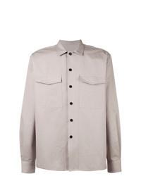 Розовая куртка-рубашка