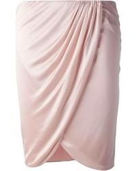 Розовая мини-юбка