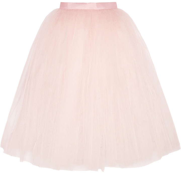 Пышные розовые юбки фото