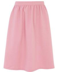 Розовая пышная юбка