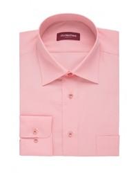 Мужская розовая рубашка с длинным рукавом от Allan Neumann