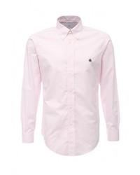 Мужская розовая рубашка с длинным рукавом от Brooks Brothers