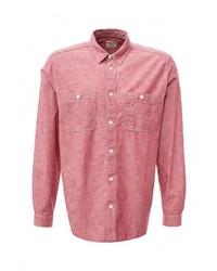 Мужская розовая рубашка с длинным рукавом от Gap