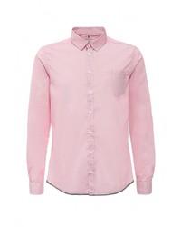 Мужская розовая рубашка с длинным рукавом от Harris Wilson