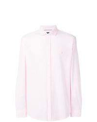 Мужская розовая рубашка с длинным рукавом от Polo Ralph Lauren