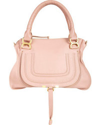 Розовая сумка через плечо