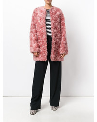 Розовая шуба от Stella McCartney