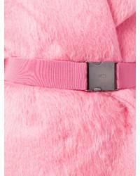 Розовая шуба от No.21