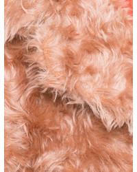 Розовая шуба от Maison Margiela