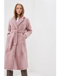 Розовая шуба от Vera Nicco