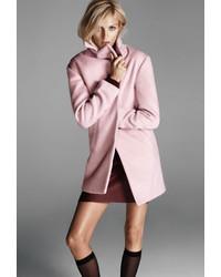 Женское розовое пальто от Forever 21