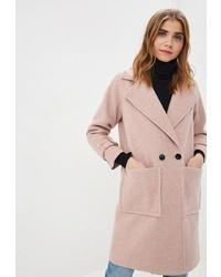 Женское розовое пальто от Fresh Cotton