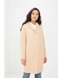 Женское розовое пальто от Gamelia