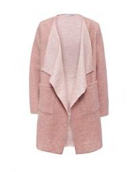 Женское розовое пальто от Lovini