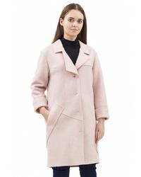 Женское розовое пальто от Pavel Yerokin