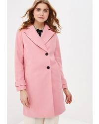 Женское розовое пальто от Top Secret